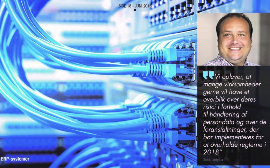 Sådan håndterer du persondata sikkert i dine ERP-systemer