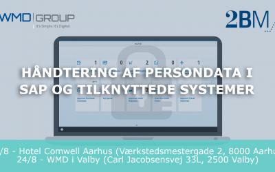 Håndtering af Persondata i SAP og tilknyttede systemer