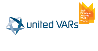 United VARs receives 2017 SAP Pinnacle Award