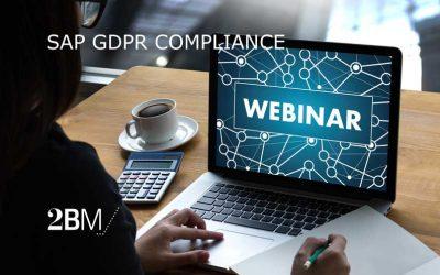 Webinar – SAP GDPR Compliance