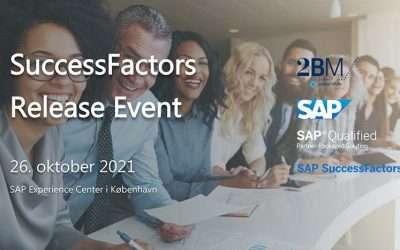 SuccessFactors Release Event sign up